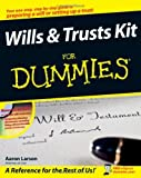 img - for Wills and Trusts Kit For Dummies [Paperback] [2008] (Author) Aaron Larson book / textbook / text book