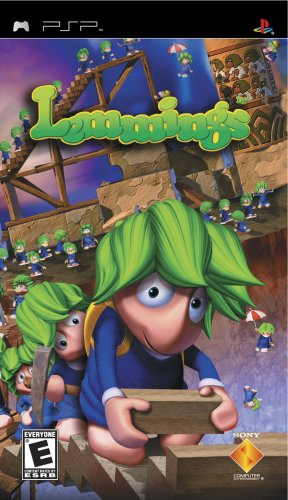 Lemmings - Sony PSP - 1