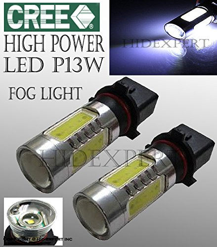 Cree Led P13W 5202 Fog Light Plasma Projector Bulbs W/ No Error Decoder Cable