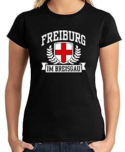Cotton Island - T-shirt Frauen TSTEM0168 freiburg im breisgau