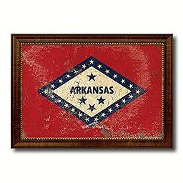 Arkansas State Vintage Flag Collection Western Interior Design Souvenir Gift Ideas Wall Art Home Decor Office Decoration - 23\