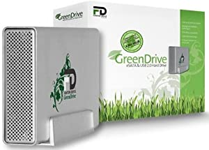 Fantom GreenDrive 1TB USB 2.0/eSATA Desktop External Hard Drive GD1000EU