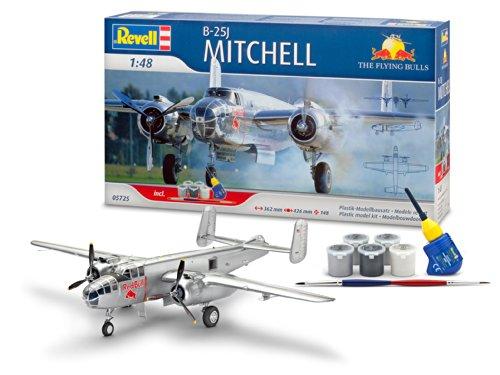 Revell-05725-Modellbausatz-Geschenskset-B-25J-Mitchell-Fly-Mastab-148