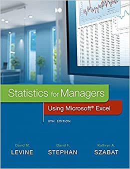 Statistics For Managers Using Microsoft Excel Plus MyStatLab With Pearson EText -- Access Card Package (8th Edition)