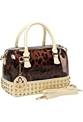 MG Collection Mentha Gothic Doctor Handbag
