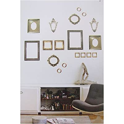 gilt wall sticker frames