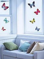 Ambiance Sticker Vinilo Decorativo 26 Piezas Exotic Butterflies