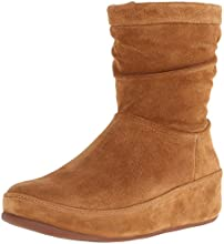 Fitflop Crush Suede Zip, Women's Boots