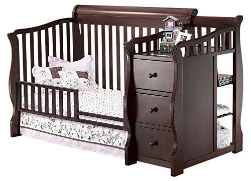 Sorelle Tuscany Mini Siderail Toddler Bed Conversion Kit, Cherry (Espresso Crib Sorelle compare prices)