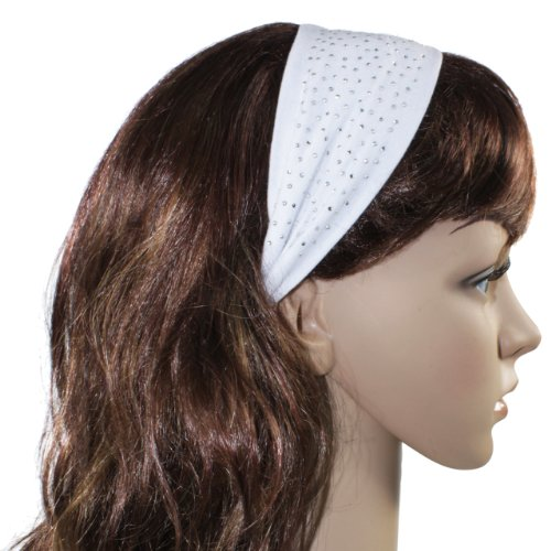 Simple Sparkling Rhinestone Stretch Headband