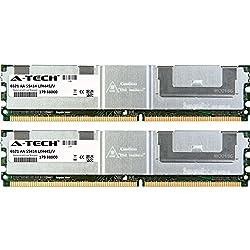 4GB KIT 2x 2GB Dell Precision Workstation Series 490 690 1KW 750W 690n R5400 Rack T7400 DIMM DDR2 ECC Fully Buffered PC2-5300 667MHz RAM Memory Genuine A-Tech Brand