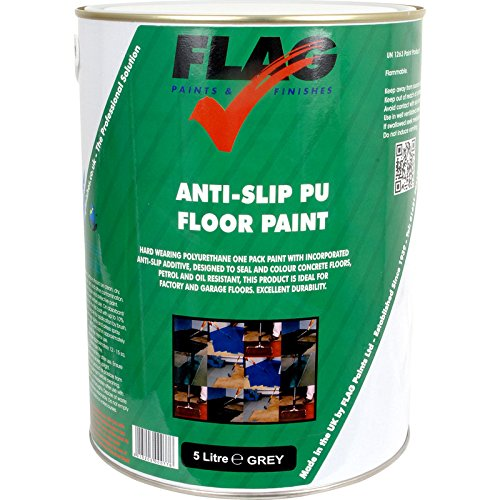 Anti Slip PU Floor Paint Grey 5L