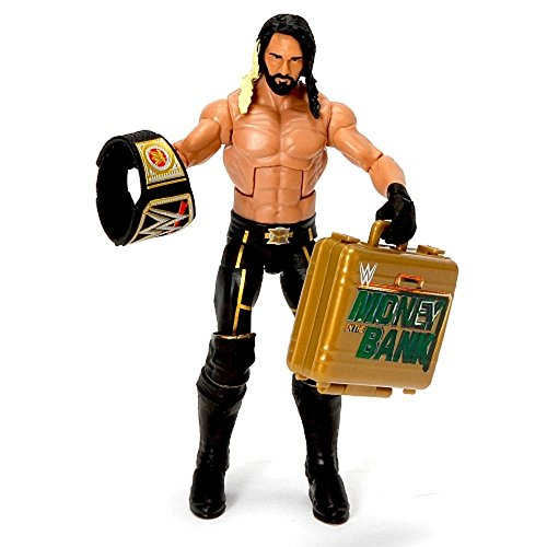 WWE, Elite Collection Wrestlemania 31, Seth Rollins Action Figure (Belts For Figures compare prices)