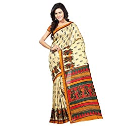 Shree vardhman Saree Fabric : Bhagalpuri Silk Blouse Fabric : Bhagalpuri Silk