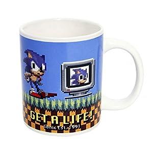 Sonic The Hedgehog - Taza, diseño de Sonic   Comentarios y más información
