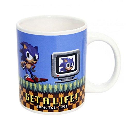 Sonic The Hedgehog Get A Life Mug