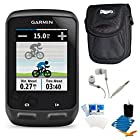 Garmin Edge 510 Cycling Performance Monitor and Sensors GPS with Case Bundle - Includes GPS, Ultra-Compact Digital Camera Deluxe Carrying Case, White Audio Earbuds with Microphone, LCD Screen Protectors, and 3pc. Lens Cleaning Kit
