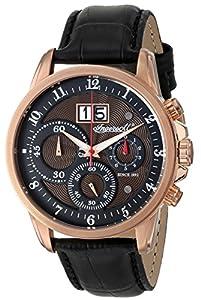 Ingersoll Men's INQ015BRRS Soho Analog Display Japanese Quartz Black Watch