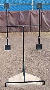 Amazon Com The Strike Plate Baseball Pitching Target