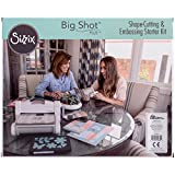 Sizzix 660341 Big Shot Plus Starter Kit, White & Gray