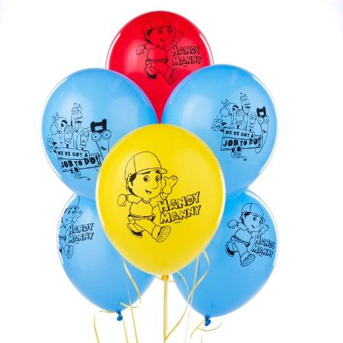 Party Destination Disney Handy Manny Latex Balloons - 1