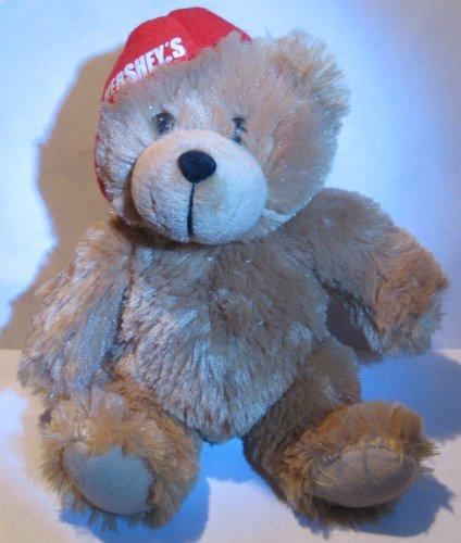 Hershey's Light Brown Bear  Red Baseball Cap