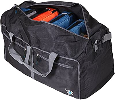 Bago Duffle Bag For Travel Luggage Gym Sport Camping - Lightweight Foldable Into Itself Duffel from Bago