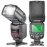 Neewer® FlashNW-565 EXN I-TTL Speedlite Esclave avec Flash Diffuseur de Rebond pour Nikon D4 D3s D3x D3 D700 D300s D300 D200 D100 D90 D80 D70s D5200 D3200 D7000 D5100 D5000 D3100 D3000 D60 D40X D800 D600 D7100 et Tous Les Modèles de NIKON (NW565 Flash Seul)