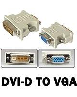 DVI-D 24 + 1 connecteur 25 broches Prise de VGA 15 broches Convertisseur Vidéo