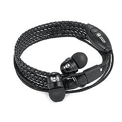 Zoook Rocker Wraps In Ear Wired With Mic Wristband Earphones (Black)