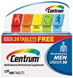 Centrum Multivitamin/Multimineral Supplement, Ultra Men's, Tablets, 100 ct.