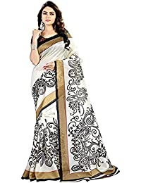Great Indian Sale Sarees For Women Party Wear Designer Today Best Offers In Low Price Sale White & Black Color...