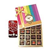 Chocholik Belgium Chocolates - Decadent Truffle And Chocolate Collection Gift Box With With 3d Mobile Cover For...