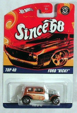 "Hot Wheels Ford ""Vicky"" Since 68 Car"