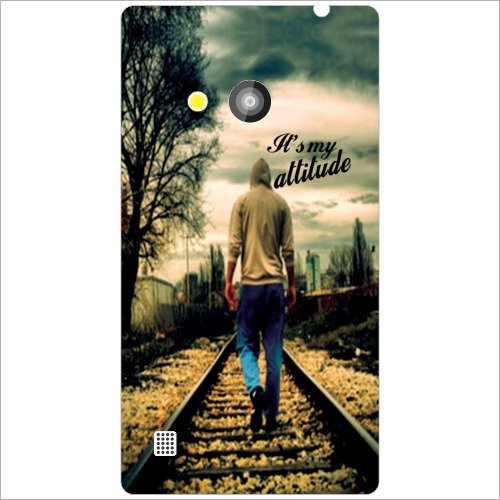 Printland Train Path Phone Cover For Nokia Lumia 720