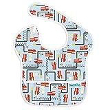 バンキンス スーパービブ/スタイ【日本正規品】洗濯機でも洗える お食事用防水ビブ 6~24ヶ月 Fire Engine(ブルー) S-897 ランキングお取り寄せ