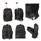 Cabin Approved Travel Trolley Backpack Luggage Suitcase Laptop Bag...