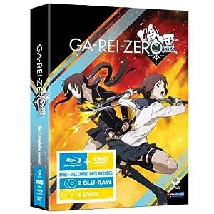 喰霊-零-(GA-REI -zero-) The Complete Series(北米版) BD+DVD Combo