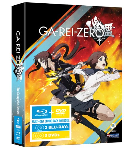 喰霊-零-(GA-REI -zero-) The Complete Series(北米版) BD+DVD Combo