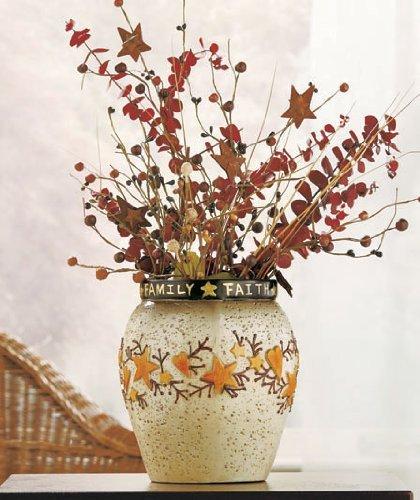 country-americana-hearts-stars-decorative-crock-vase-utensil-holder-inspirational-sentiment-faith-fa