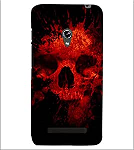 PrintDhaba Scary Skeleton D-4341 Back Case Cover for ASUS ZENFONE 5 A501CG (Multi-Coloured)