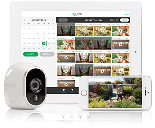 Arlo Smart Home - 1 HD Camera Security System, 100% Wire-Free, Indoor/Outdoor...