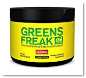 PHARMAFREAK - GREENS FREAK - 52G - USA - (Trial Size) - HYBRID SUPERFOOD GREENS SUPPLEMENT - Vanilla Chai - Designed for ATHLETES and LIFTERS