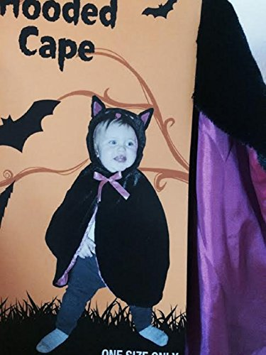 Toddler Cat Hooded Cape ~ Size 2-4