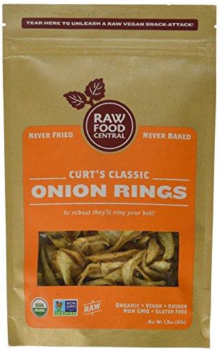 Curt's Classics Onion Rings 100% Organic Raw Vegan Snack