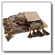 Decorative Bath Towels with Tassels