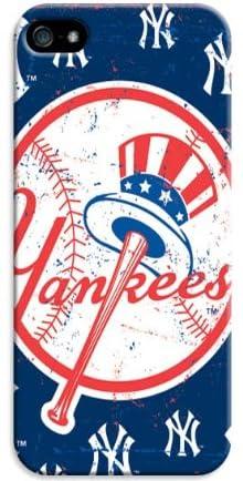 【iphone5/5s 専用ケース 人気】「MLB」野球 New York Yankees スーパースリム耐衝撃保護ケース