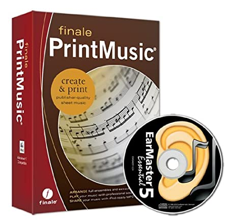 Finale PrintMusic 2011 - EarMaster Essential Bundle
