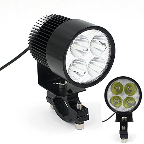 20W Universal Motorcycle Ebike Led Modified Headlight Lamp For Osram