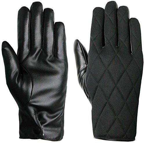 unisex-black-thinsulate-quilted-gloves-with-faux-leather-palm-by-easy-off-gloves-small-eu-8